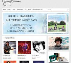 Une nouvelle boutique en ligne officielle pour George Harrison
