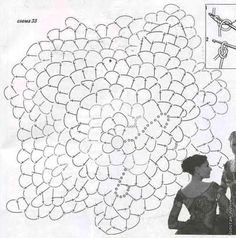 Одноклассники Crochet Leaf Patterns, Crochet Leaves, Crochet Diagram, Freeform Crochet, Crochet Flowers, Crochet Stitches, Knit Crochet, Russian Crochet, Irish Crochet
