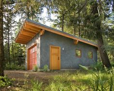 garages with single sloped roof - Google Search