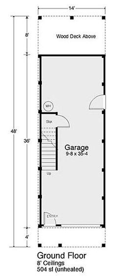 Beach Girl - Coastal Home Plans Florida House Plans, Beach House Plans, Florida Home, Beach House Decor, Home Decor, Narrow Lot House Plans, House On Stilts, Tower House, Beach Bungalows