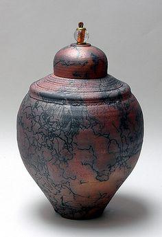 Horsehair #95: Ron Mello: Ceramic Vessel - Artful Home