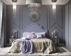 Сlassic bedroom