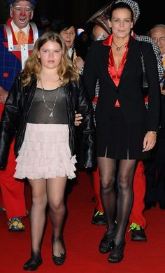 Stephanie of Monaco and her second daughter and third child, Camille Gottlieb.