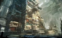 Delivery at the slums by Tryingtofly.deviantart.com on @DeviantArt