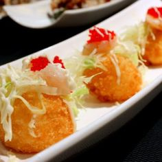 Hot Crispy Wrapped Tofu Ball with Sweet Basil served with Jasmine Rice - Amarin Thai Cuisine - Zmenu, The Most Comprehensive Menu With Photo...