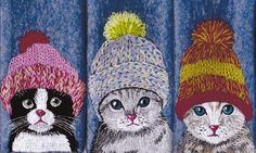"extrait du livre ""Les chats"" de Anne Muchir - édition Tutti Frutti - http://www.anne.muchir.fr/"