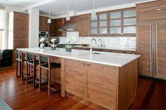 Casual Contemporary Kitchen by Betty Wasserman on HomePortfolio