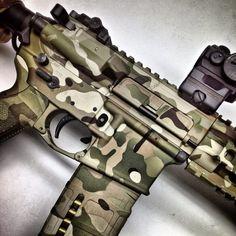 Multi Cam Rifle