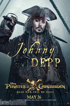 Новые постеры фильма Пираты Карибского моря: Мертвецы не рассказывают сказки