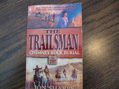 The Trailsman Chimney Rock Burial.