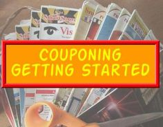 Couponing - Part 2 - Getting started couponing. Be sure to check out part 1 and part 3 to get all the information you need to coupon!