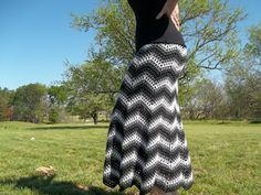 Color Wave Skirt Crochet Pattern par HighStrungCrochet sur Etsy