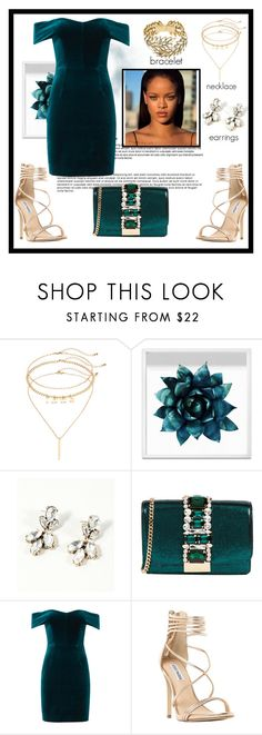 """""""E l e g a n t"""" by vellfe ❤ liked on Polyvore featuring Mudd, Oliver Gal Artist Co., GEDEBE, Nicholas, Steve Madden and Yves Saint Laurent"""