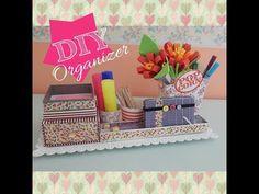 Organizer da scrivania FAI DA TE, collaborazione con Delya Magnifique - YouTube