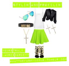 STYLIN' AND PROFLIN' by laurencorb on Polyvore featuring polyvore, fashion, style, Bench, Chalayan, Moschino, Henri Bendel and Giuseppe Zanotti
