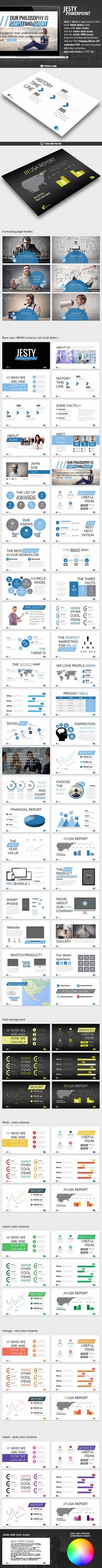 Jesty Powerpoint Presentation - Business PowerPoint Templates