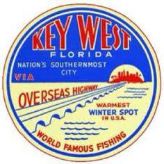 Vintage Key West Florida