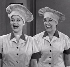 """I Love Lucy"" ~ Lucy and Ethel working in a candy factory portrayed by Lucille Ball and Vivian Vance I Love To Laugh, Your Smile, Make Me Smile, I Love Lucy Show, My Love, Vivian Vance, Desi Arnaz, Great Smiles, Lucille Ball"