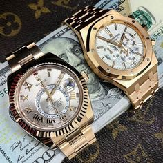 @PunIntendedMag Rolex or AP? Help me choose the best one for the #NewYear Party: http://punintendednews.club/