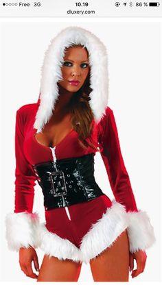Hott Santa Costume! Buy it at:   www.dluxery.com