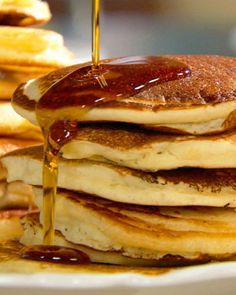 Sometimes, all you need is love. Other times, all you need is pancake with maple syrup...