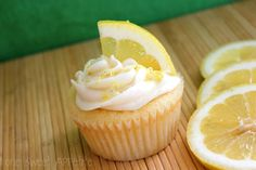 Coconut Cupcakes with Lemon Curd Filling