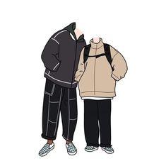 Cute Couple Cartoon, Cute Couple Art, Cute Couples, Cute Cartoon Wallpapers, Cute Chibi, Cute Gay, Cute Love, Picsart, Fictional Characters