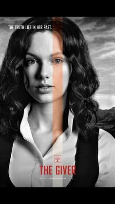 Taylor Swift's official character poster for The Giver