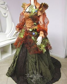 #tbt We created a Mother Earth Gown for our customer Christina #fireflypath #motherearth