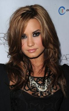 Hair Color Ideas for Brunettes with Highlights 2013 -- my hair a bit lighter than this but I think this would look good!