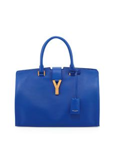 96d749b4789f Saint Laurent Y-Ligne Classic Cabas Carryall Bag