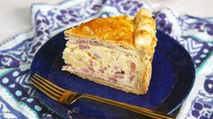 Think of this as a deliciously eggy and cheesy deep-dish pie with prosciutto and 2 types of salami. Pizza Rustica, What's For Breakfast, Breakfast Recipes, Filo Recipe, Tasty Recipe, Italian Easter Bread, Tasty Videos, Fast Easy Meals, Deep Dish