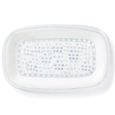 "VIETRI - 'Mosaico Blu' Collection - Rectangular Platter | 13.75x8.5"" | Plum Pudding Gourmet Kitchen Store"