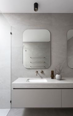 What are Solid Surface Basins and How Do You Care For Them? — Zephyr + Stone Room Design Bedroom, Bathroom Interior Design, Coastal Powder Room, Stone Benchtop, Natural Stone Bathroom, Inset Basin, Stone Basin, Vanity Basin, Basin Design