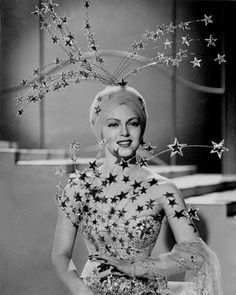 """Lana Turner's amazing costume in """"Ziegfeld Girl"""", 1941."""
