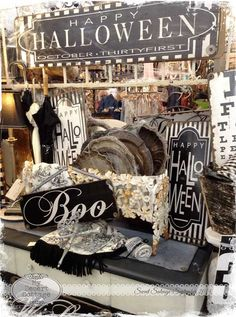 **My Desert Cottage**: Sweet Salvage- Rustic Remains... Totally Spooktacular!!!