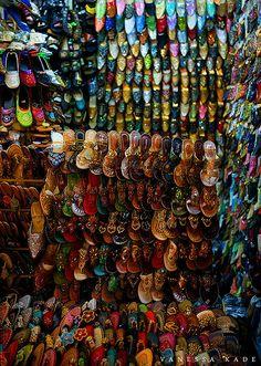 Ho Chi Minh City, Vietnam - Ben Thanh Market Shoes