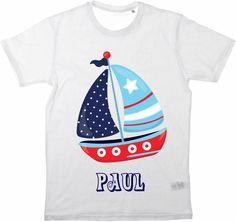 Kinder T-Shirt Namensshirt von MilaLu auf DaWanda.com