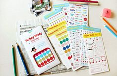 Korean Sticker  Happy Study Sticker Pack  Diary by AllisonDIY