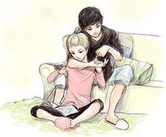Uploaded by ♡ Classy ℳ ♛ ♡. Find images and videos about girl, love and cute on We Heart It - the app to get lost in what you love. Cute Couple Drawings, Cute Drawings, Pencil Drawings, Manga Anime, Anime Art, Cute Anime Couples, Couples In Love, Manga Couple, Illustrations