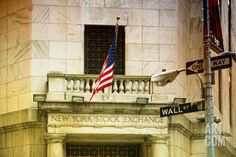 Wall Street - New York stock exchange - Manhattan - NYC - United States Photographic Print by Philippe Hugonnard at Art.com