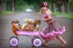 Cute little girl pic idea