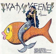 Katy Keene by Bill Woggon.