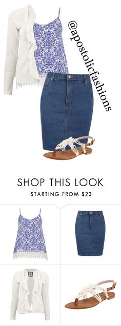 """Apostolic Fashions #1281"" by apostolicfashions on Polyvore featuring maurices, Ally Fashion and Stuart Weitzman"