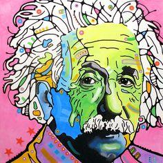 Albert Einstein by Dean Russo