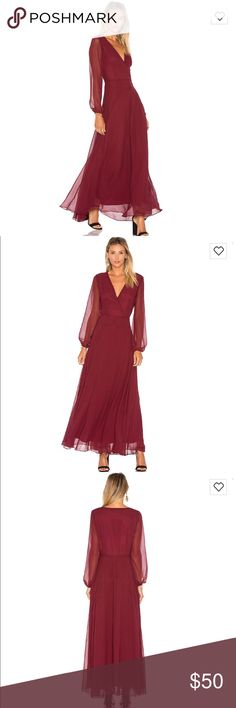 Lucy Paris Maxi Dress Brand new with tags. Fully lined maxi dress in gorgeous color. Size small. Lucy Paris Dresses Maxi