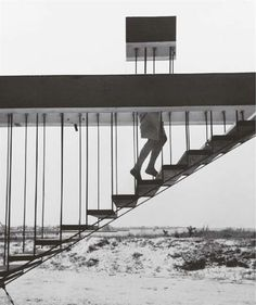 Andre Kertesz  Disappearing Act, New York, 1955  gelatin silver print  93/8 x 7¾in