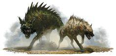 Monster Manual: Wargs - AKA Motherf*cking Dire Hyenas