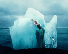 understanding human - iceland kory zuccarelli photography there she waits on her throne of ice