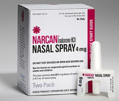 Clinton Foundation announces free Narcan Nasal Spray for US High Schools.  Naloxone is an opioid antagonist indicated for the emergency treatment of known or suspected opioid overdose, as manifested by respiratory and/or central nervous system depression.